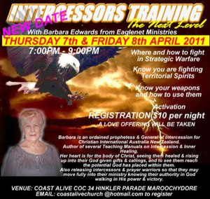 INTERCESSORS-TRAINING-7-&-8-APRIL-2011-UPDATED